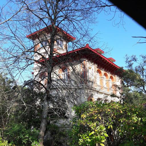 Photo représentant une des villas de la ville d'hiver d'Arcachon