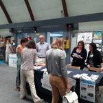 Ouverture du stand du Roseau pendant le forum des association 2018 à Mios